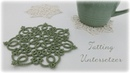 Tatting Untersetzer DIY Tatting Coasters eng sub