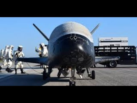 THE CRUSTY X-37B SPACE PLANE IS AS MYSTERIOUS AS IT IS DIRTY    RHINO 2018