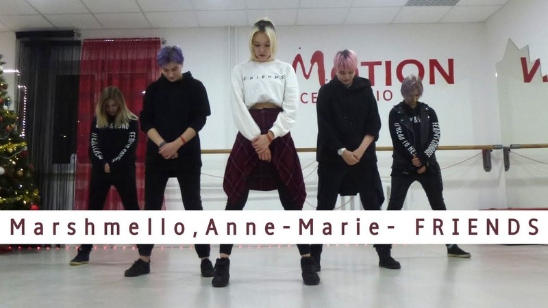 [DANCE COVER] FRIENDS - Marshmello Anne-Marie / 1MILLION Tina Boo Choreography by F-Line