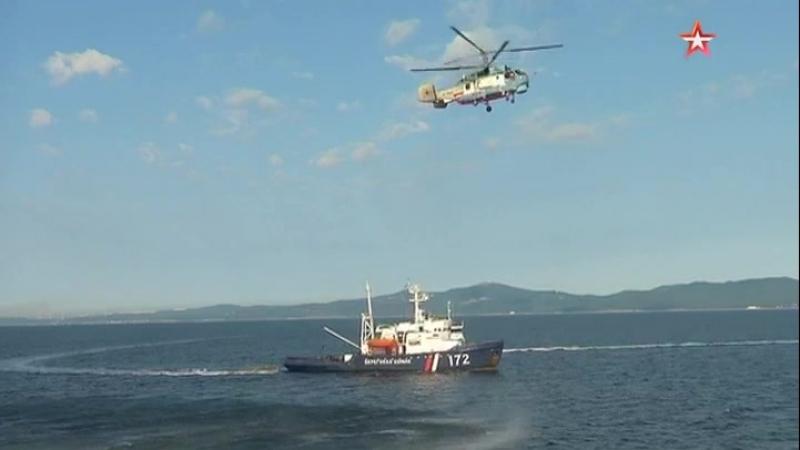 Пограничники РФ и Кореи взяли штурмом судно с «террористами»