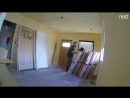 Look what I caught my contractor doing