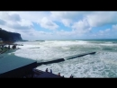 Сильный шторм на Черном море