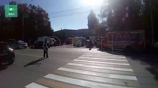 Мощный взрыв прогремел в колледже в Керчи