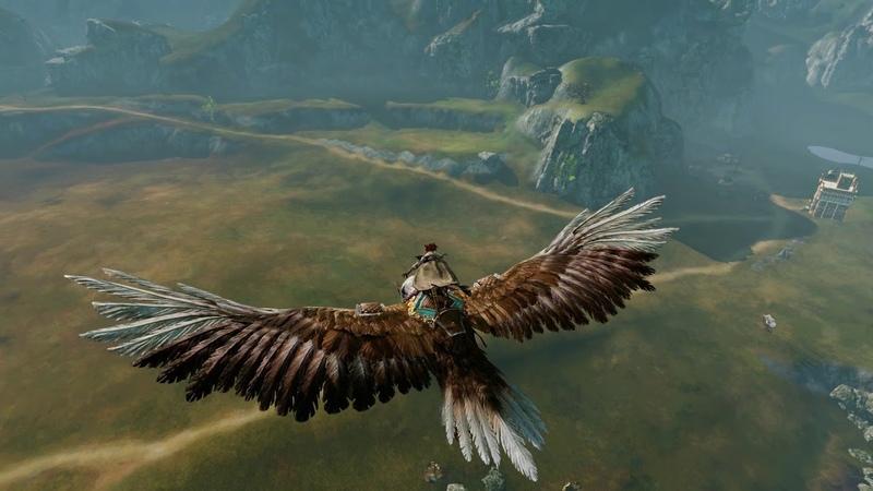 ArcheAge公式 グライダー:ハルギスの鷹紹介