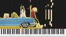 Thank you, My Twilight - FLCL Progressive [Piano Tutorial] (Synthesia) Ashiente