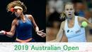 Naomi Osaka vs Magda Linette 2019 Australian Open Highlights