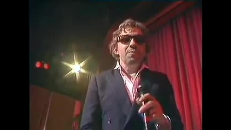 Serge gainsbourg ★ ecce homo ★ live ★ 02 12 1981