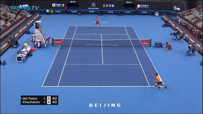 Фантастический приём Карена Хачанова Betting good tennis