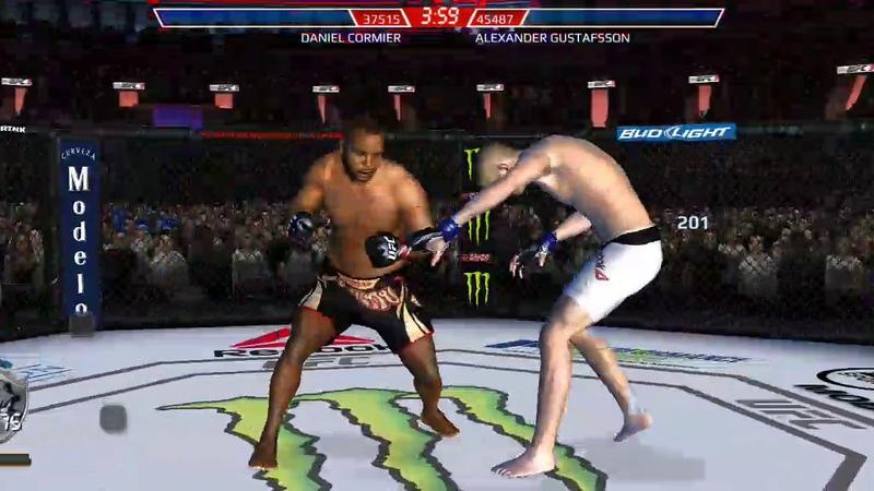 UFC mobile IE DC
