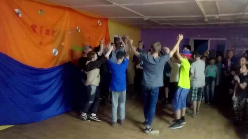 6 смена 2018г Хоровод от 2 отряда