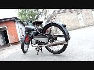 Мотоцикл Киевлянин К1Б. Реставрация. Мотоателье Ретроцикл