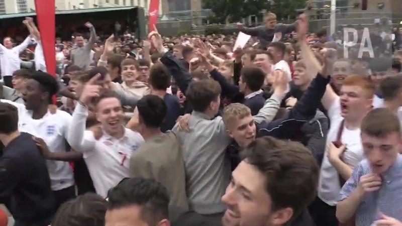 Leeds erupts as Harry Kane scores