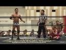 Akito, Konosuke Takeshita, Shunma Katsumata vs. Antonio Honda, Danshoku Dino, Makoto Oishi (DDT - Road to Ryogoku 2018)