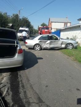 В Курске в ДТП травмированы две женщины