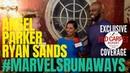 Angel Parker Ryan Sands interviewed: MarvelsRunaways cast/crew for Season 2 setvisit Hulu