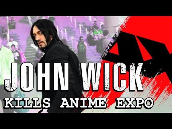 John Wick Kills Anime Expo 2019 - With Leon Chiro