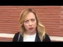 Réponse de la député italienne Giorgia Meloni à Juncker : Arrête de boire !