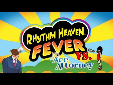Ace Attorney vs Rhythm Heaven Fever 10th Remix