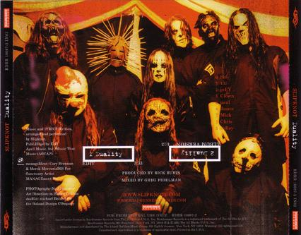 Slipknot - Duality (Promo)