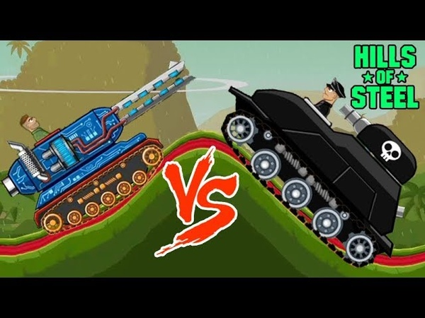 Hills of steel hack - Mobile game for kids - Tank - Games bii
