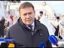 21 12 На НВМБ подняли Андреевский флаг на борту патрульного корабля «Василий Быков» и спасательного