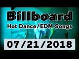 Billboard Hot DanceElectronicEDM Songs TOP 50 (July 21, 2018)