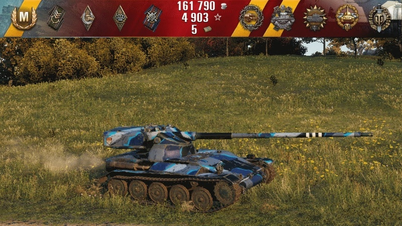 AMX 13 57 \ world of tanks \ Редшир \