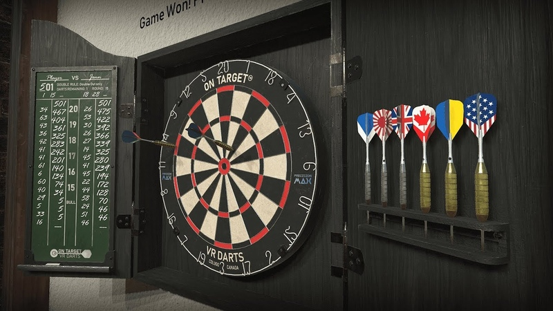 On Target VR Darts - Early Access Trailer [VR, Oculus Rift]