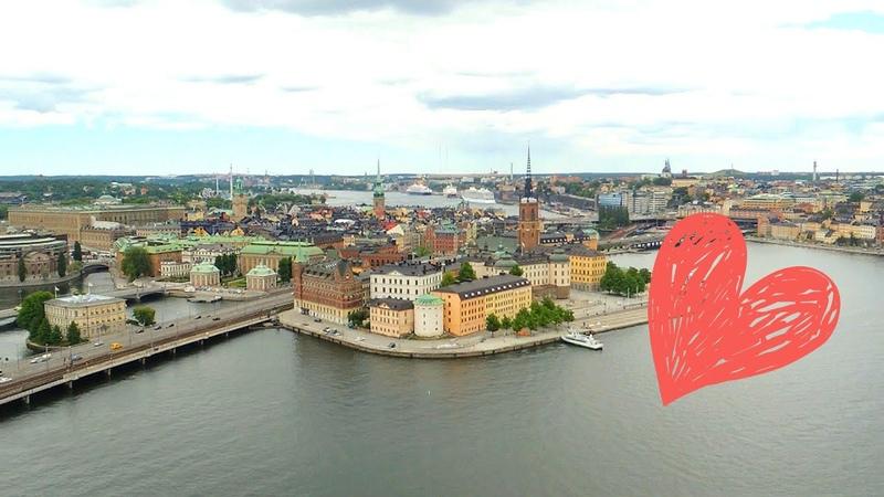 Ратуша в Стокгольме - смотровая площадка Stadshuset