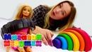 Видео для девочек новые коньки для Барби. Магазин игрушек.
