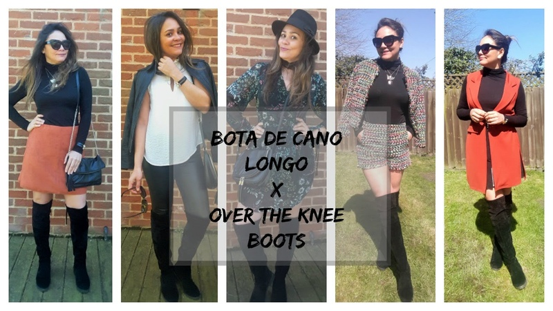 COMO USAR BOTA DE CANO LONGO/OVER THE KNEE BOOTS