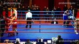 Riga Open 2014 Final 69 kg Jevgenij FABER Russia VS Jegors ARTJOMOVS Latvia proboxing.eu