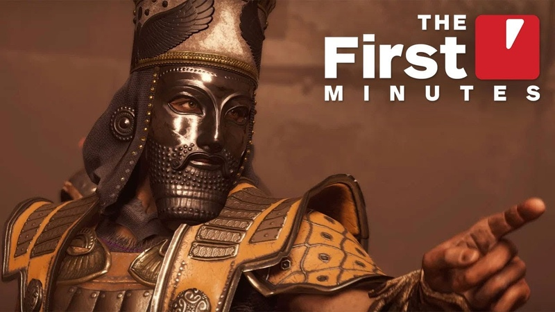 The First 11 Minutes of Assassin's Creed Odyssey DLC Legacy of the First Blade Hunted