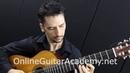 The Four Seasons Summer 3rd mvt solo classical guitar arrangement by Emre Sabuncuoglu