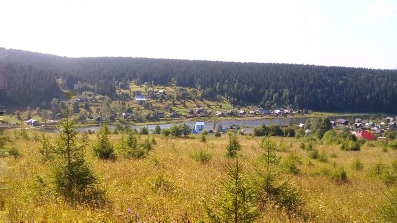 Лето Уральские горы Пермский край поселок Усьва