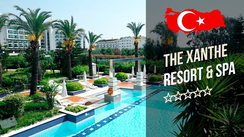Отель Ксанте Резорт Спа 5* (Сиде). The Xanthe Resort Spa 5* (Сиде). Рекламный тур География.