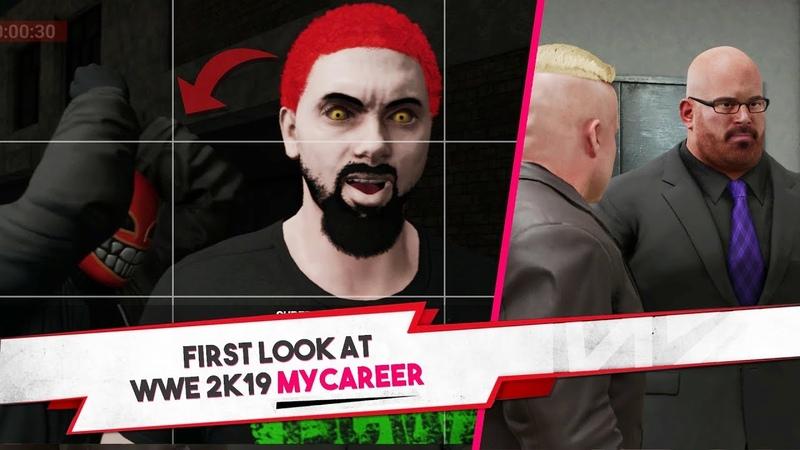 First HOUR Of WWE 2K19 MyCareer (WWE 2K19 My Career First Look)
