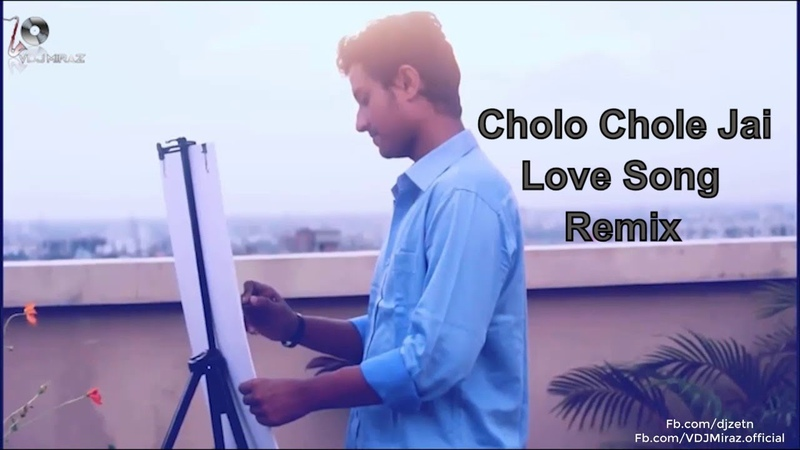 Cholo Chole Jai love song Forhad Miah Remix Dj Zetn Video By Vdj Miraz