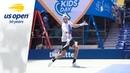 Juan Martin del Potro Practices Live on Ashe Before the 2018 US Open