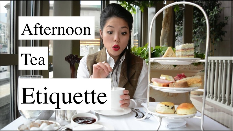Afternoon Tea Etiquette HOW TO Mtlfoodsnob
