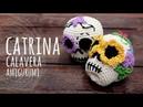 Tutorial Catrina Calavera Día de Muertos Halloween Amigurumi Crochet