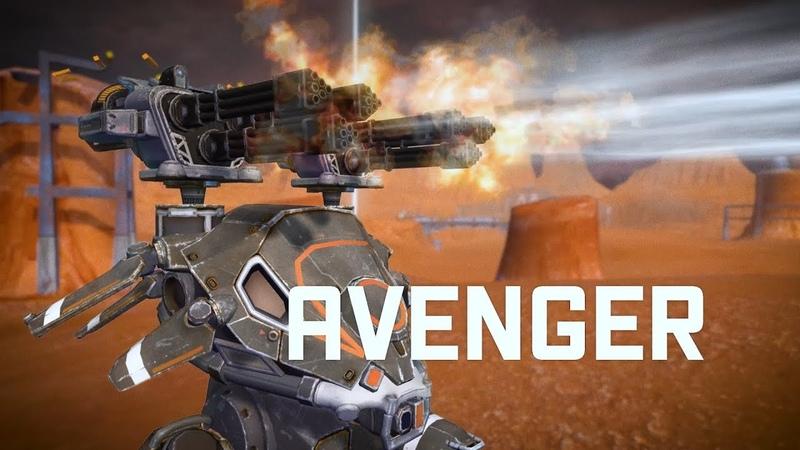 War Robots AVENGER 🔥 punish them heavily | WR NEW WEAPON update 4.0
