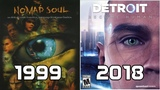Evolution of Quantic Dream Games 1999-2018