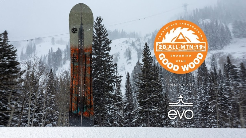 Hightide MFG Grease Gun Review Men's All-Mountain Winner – Good Wood Snowboard Test 2018-2019
