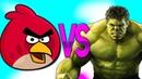 ХАЛК VS ЭНГРИ БЕРДС СУПЕР РЭП БИТВА Hulk Movie ПРОТИВ Angry Birds Game
