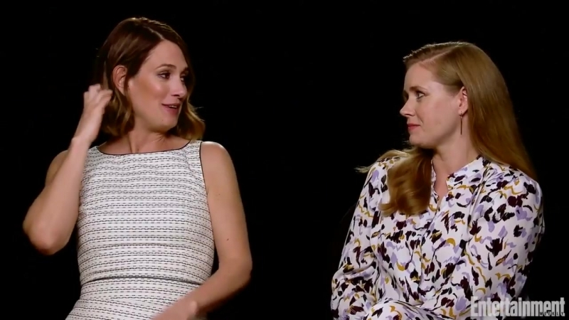Amy Adams, Gillian Flynn On Mother-Daughter Relationships, On And Off Screen _ Entertainment Weekly