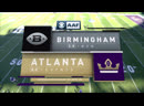 AAF 2019 / Week 03 / Birmingham Iron - Atlanta Legends / 2H / EN