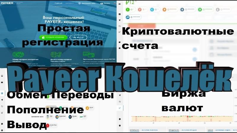 Payeer Кошелёк Работа в аккаунте возможности пайер
