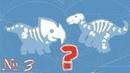 Динозавры для детей Динозаврики детям Динопарк Crazy Dino Park