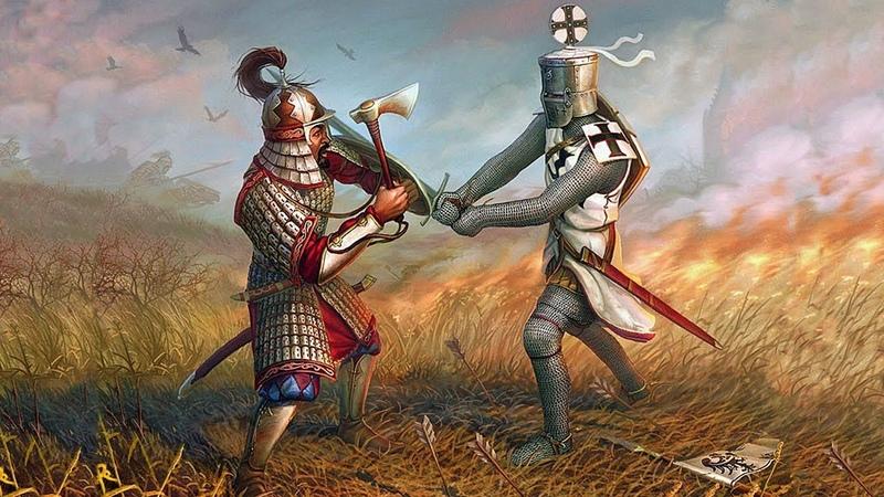 M B Warband Русь XIII век Сердитая Литва 2 2 Ослабляем Литву в одиночку 36